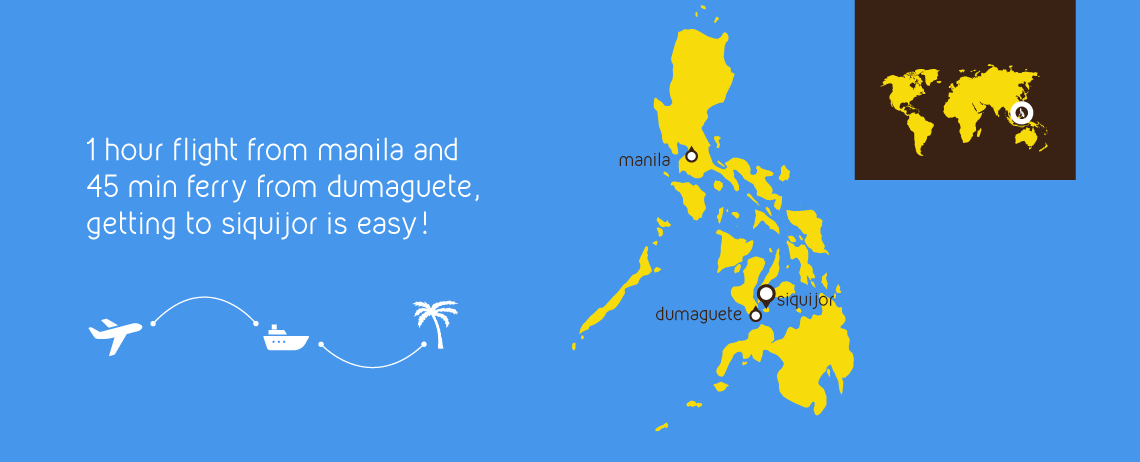 Getting to Siquijor is easy!